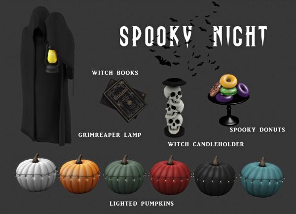 Leo 4 Sims: Spooky Night