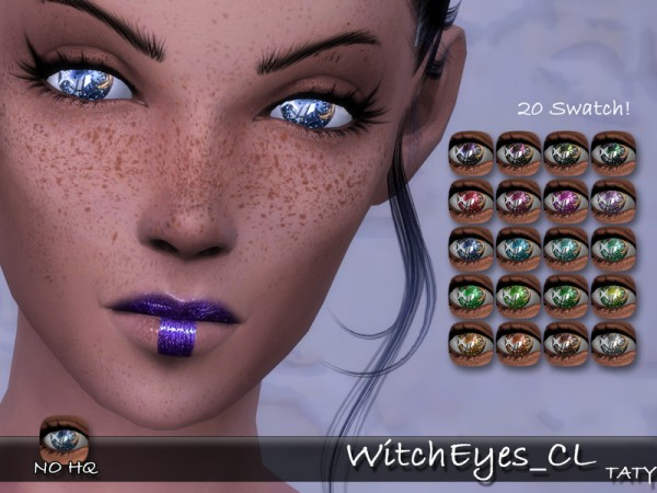 The Sims Resource: Witch Eyes by tatygagg