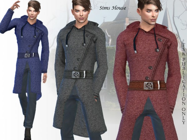 The Sims Resource: Mens magic coat by Sims House