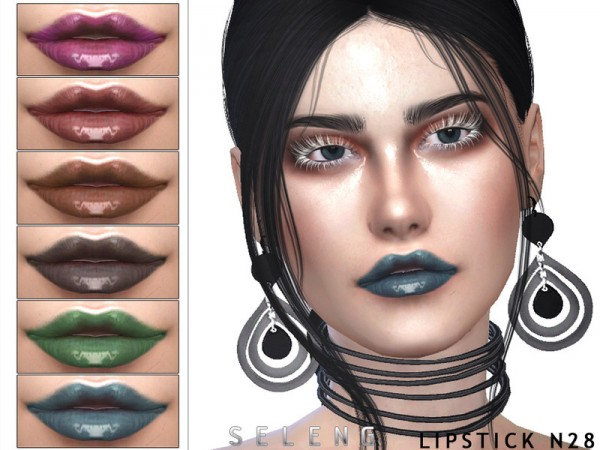 The Sims Resource: Lipstick N28 by Seleng