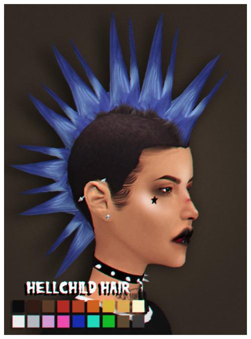 Bella Gothes: Hellchild Hair