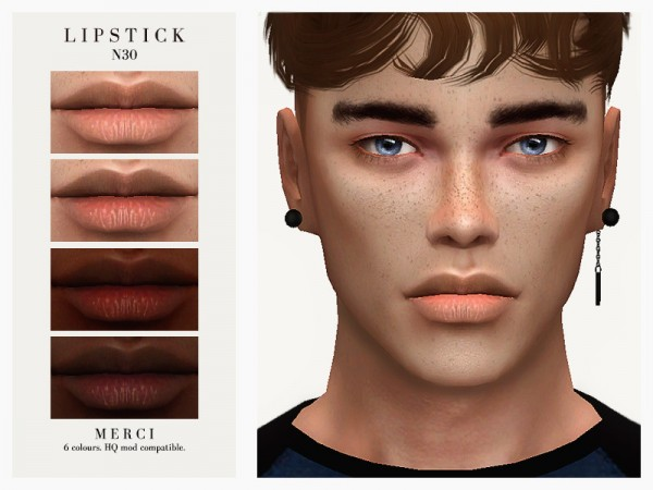 The Sims Resource: Lipstick N30 by Merci