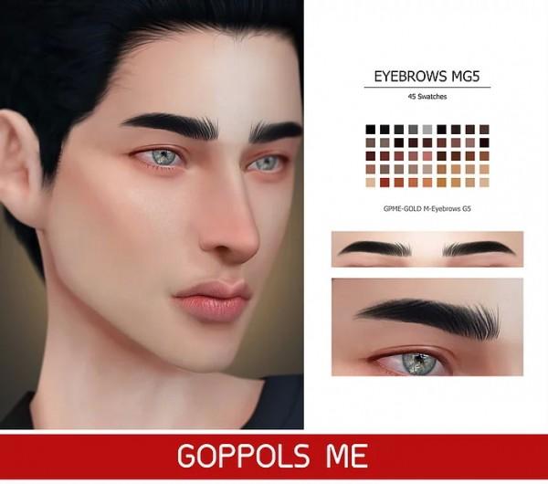 GOPPOLS Me: Eyebrows G5