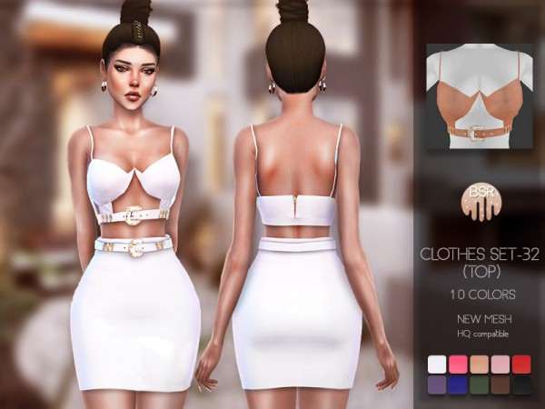 The Sims Resource: Clothes SET 32 Top by busra tr