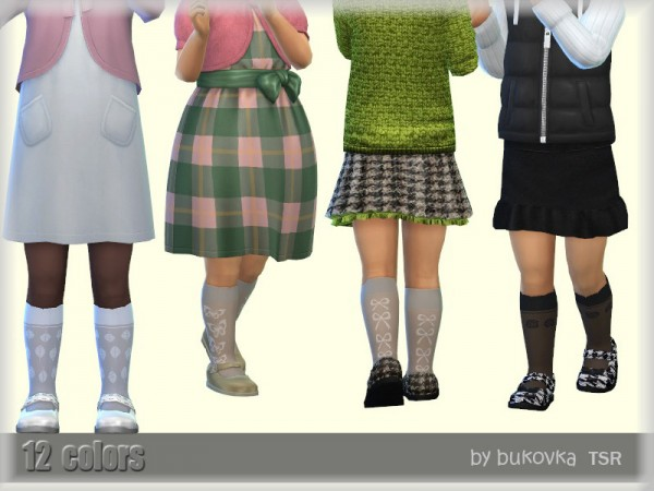 The Sims Resource: Socks Toddler by bukovka
