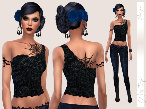 The Sims Resource: Web Top by Paogae