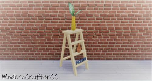 Modern Crafter: Paint Ladder  Recolour