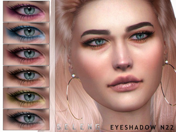 The Sims Resource: Eyeshadow N22 by Seleng