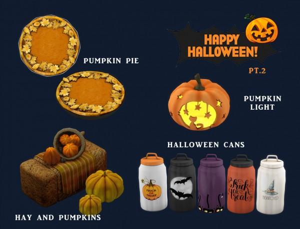 Leo 4 Sims: Happy Halloween PT.2