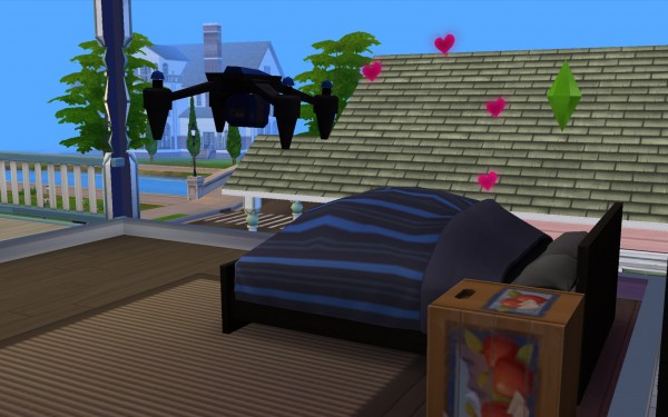 Mod The Sims: Pervy Copter by CloudyWeather331