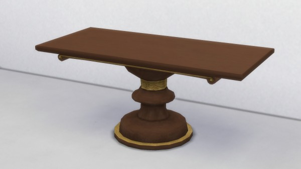 Mod The Sims: Fancy Dining Table by TheJim07
