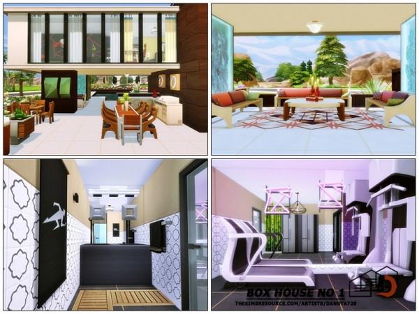 The Sims Resource: Box House No 1 by Danuta720