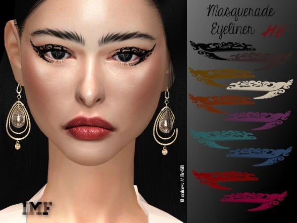 The Sims Resource: Masquerade Eyeliner N.60 by IzzieMcFire