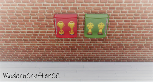 Modern Crafter: Athlete's Trophy Case Recolour