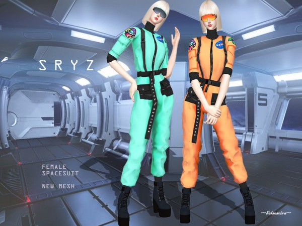 The Sims Resource: SRYZ   Space Suit by Helsoseira