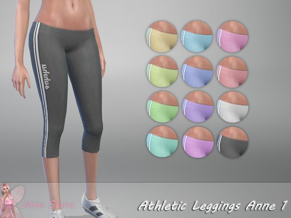 The Sims Resource: Athletic Set Anne 1 by Jaru Sims