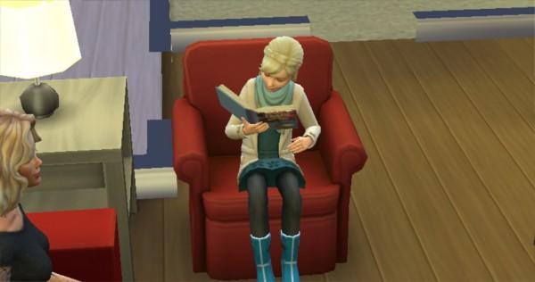 Mod The Sims: Roald Dahl Childrens Books Readable by KaraStars