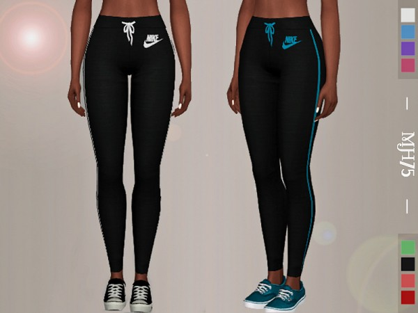 The Sims Resource: Pro Leggings by Margeh 75