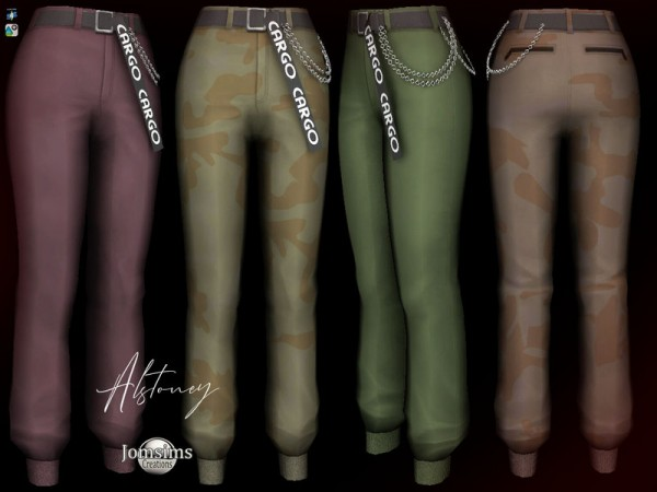 The Sims Resource: Alstoney Pants by jomsims