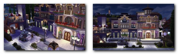 Architectural tricks from Dalila: Gaudi Square no CC