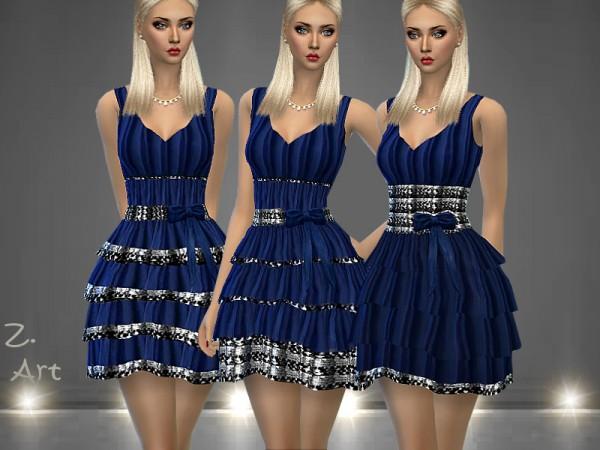 The Sims Resource: DreamZ. 09 dress by Zuckerschnute20