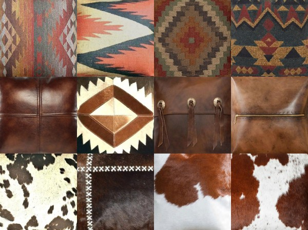 Riekus13: Southwestern pillows