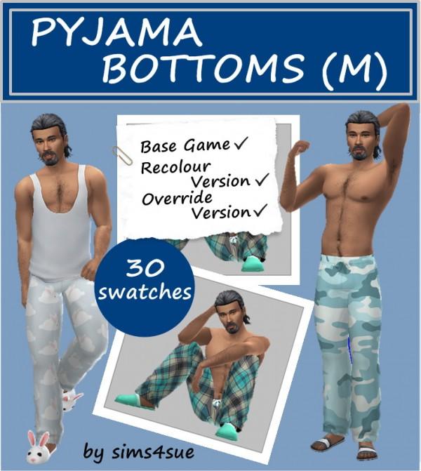 Sims 4 Sue: Pajamas Bottom
