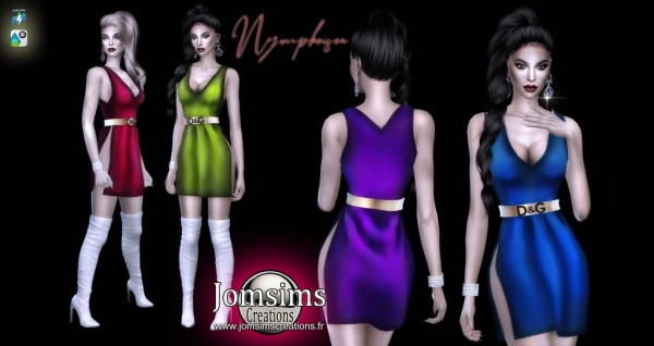 Jom Sims Creations: Nympheisea dress