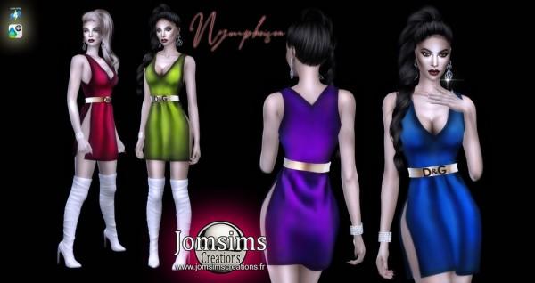 Jom Sims Creations: Nympheisea dress
