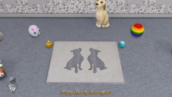 Khany Sims: Dog Rugs