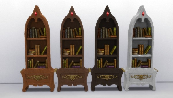 Mod The Sims: Two Fancy Bookshelves by TheJim07