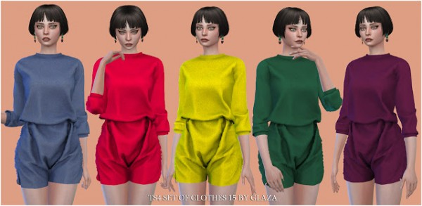 All by Glaza: Set of Clothes 16