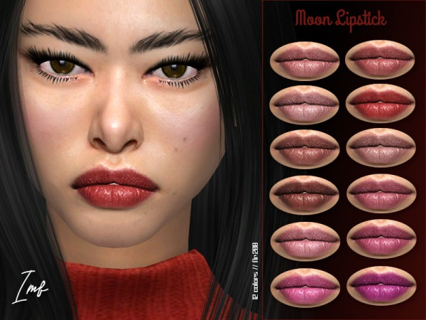 The Sims Resource: Moon Lipstick N.208 by IzzieMcFire