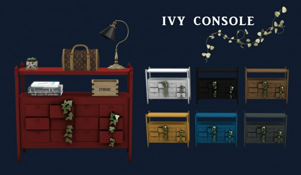 Leo 4 Sims: Ivy Console