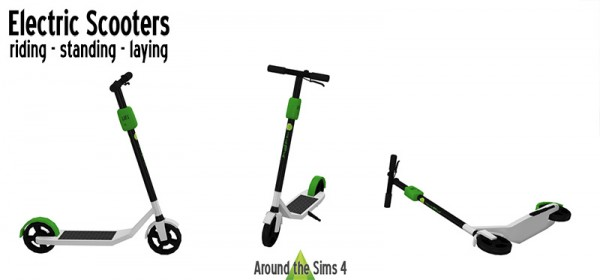 Around The Sims 4: Electric scooters