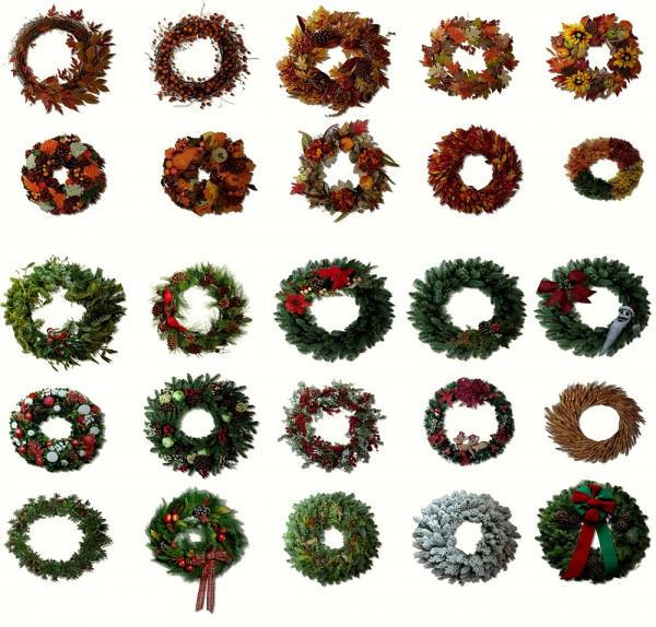 Riekus13: Holidays wreath
