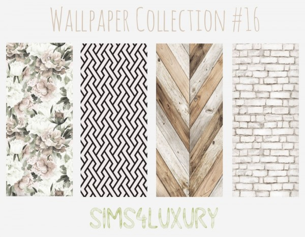Sims4Luxury: Wallpaper Collection 16