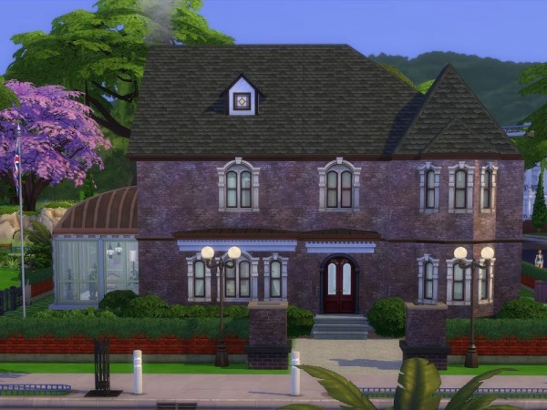 KyriaTs Sims 4 World: Hawthorne Mansion
