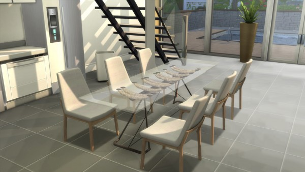 "OceanRAZR: Design Dining Table ""Venice"""