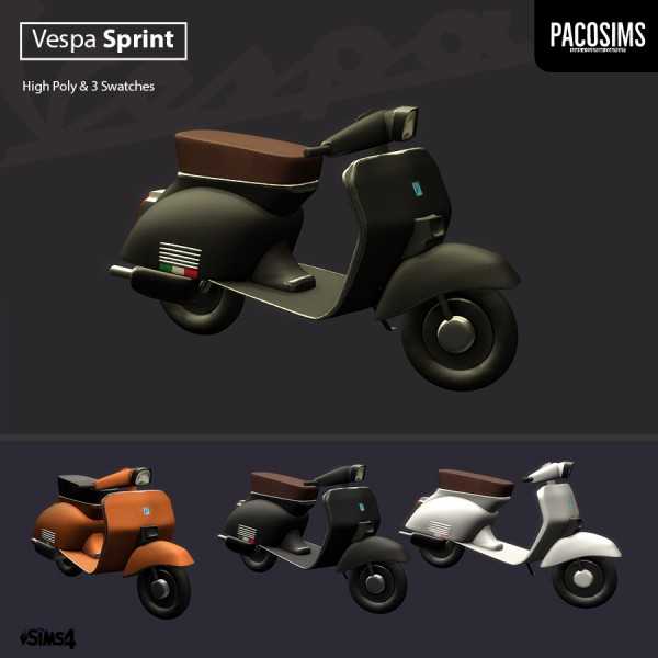 Paco Sims: Sprint Scooter