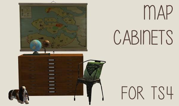 Riekus13: Salix' map cabinet
