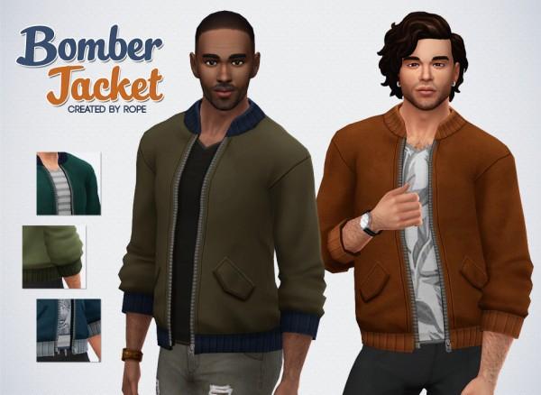 Simsontherope: Bomber Jacket