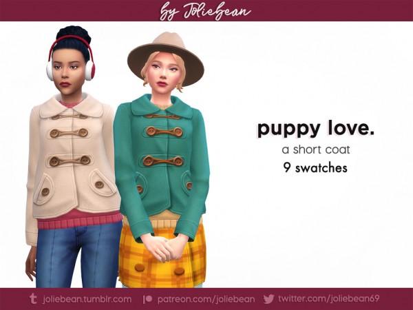 Joliebean: Puppy love coat