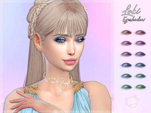The Sims Resource: Loki Eyeshadow by YuumiaUniverse