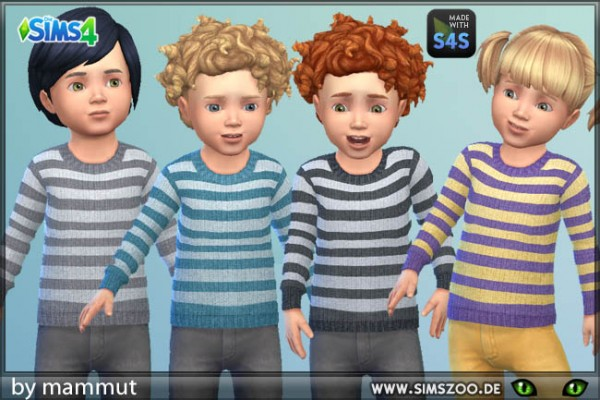 Blackys Sims 4 Zoo: Jumper Stripes 3 by mammut