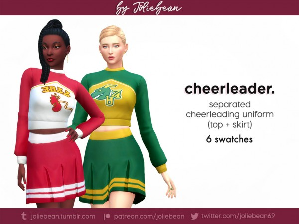 Joliebean: Cheerleader uniform