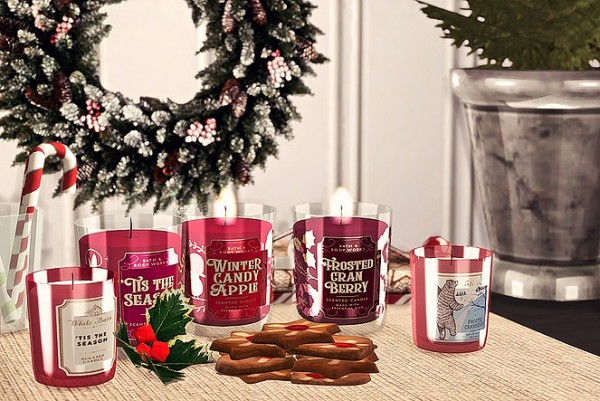 Blooming Rosy: Bath and Body Works Candle   Winter Collection