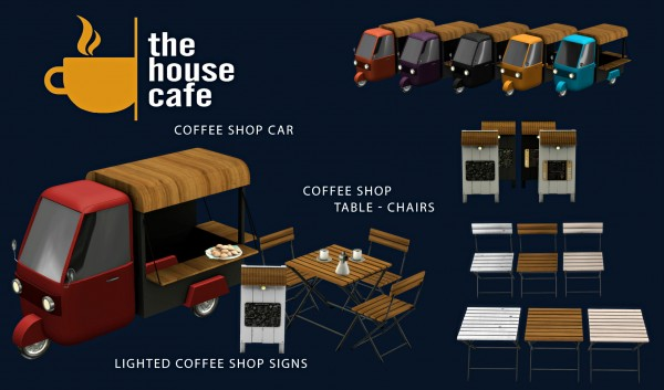 Leo 4 Sims: The House Cafe