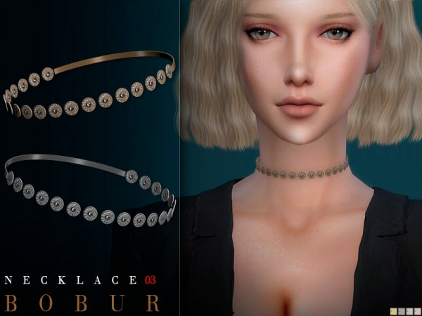 The Sims Resource: Necklace 03 by Bobur