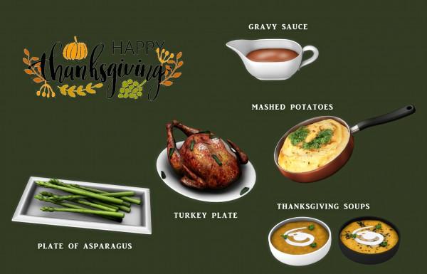 Blackys Sims 4 Zoo: Happy Thanksgiving